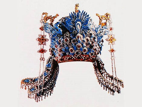 6e4837660b The rich people of ancient China fancied headgear and took a liking to it.  Usually the more noble you were